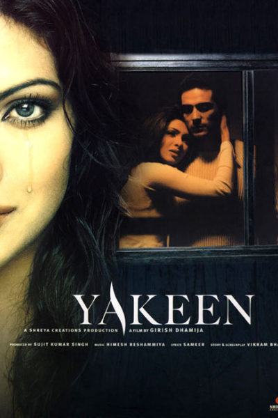 "Poster for the movie ""Yakeen"""