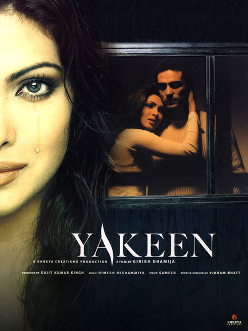 """Poster for the movie """"Yakeen"""""""