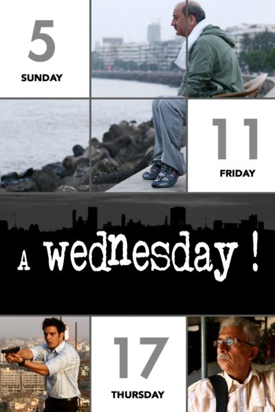"Poster for the movie ""A Wednesday!"""