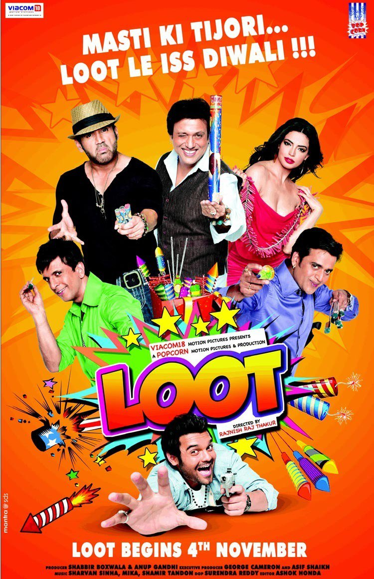 """Poster for the movie """"Loot"""""""