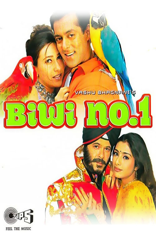 """Poster for the movie """"Biwi No. 1"""""""