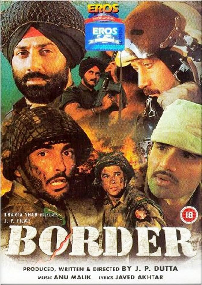 """Poster for the movie """"Border"""""""