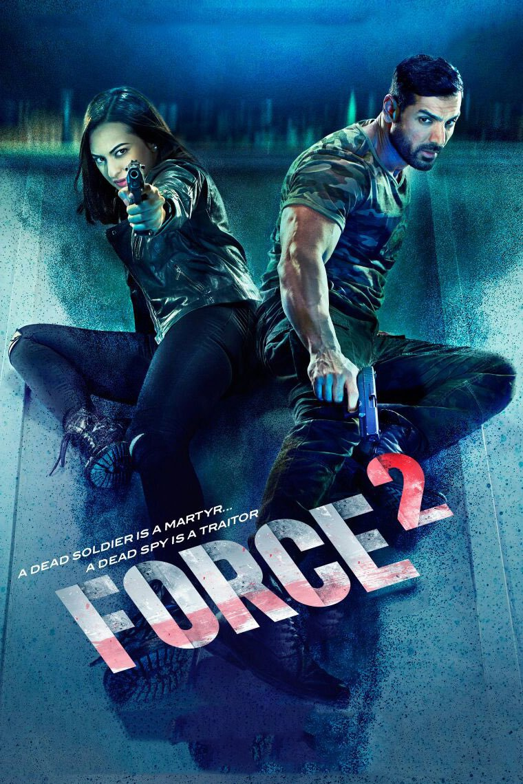 "Poster for the movie ""Force 2"""