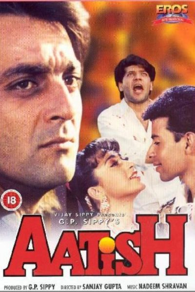 "Poster for the movie ""Aatish"""