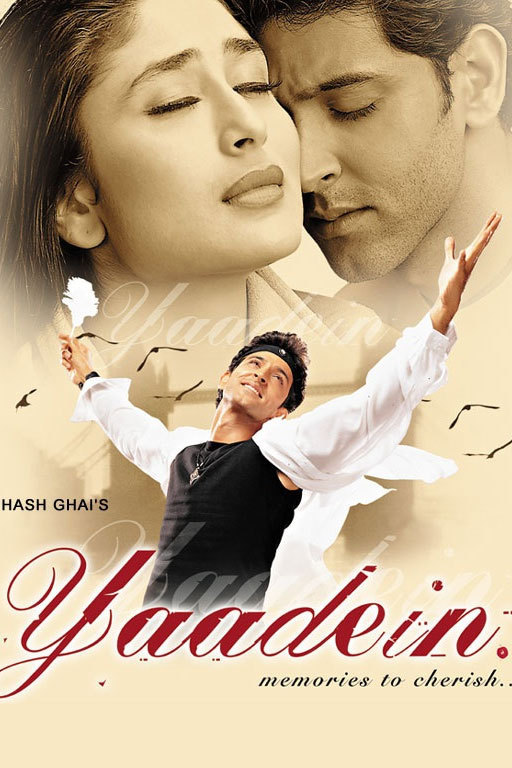 "Poster for the movie ""Yaadein"""