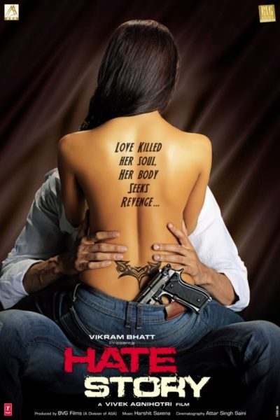 "Poster for the movie ""Hate Story"""
