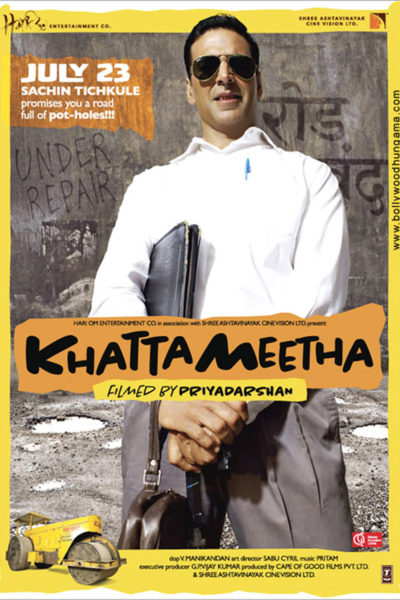 "Poster for the movie ""Khatta Meetha"""