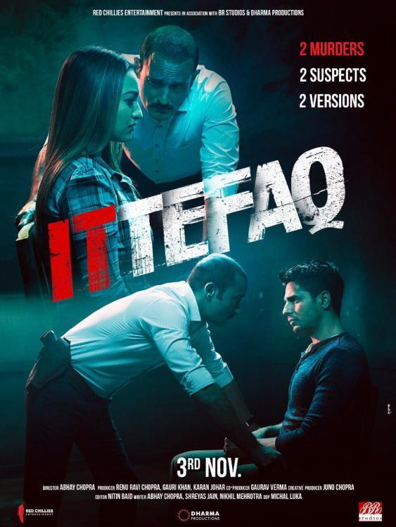 "Poster for the movie ""Ittefaq: It happened one night"""