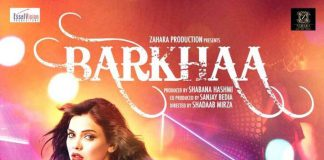 "Poster for the movie ""Barkhaa"""