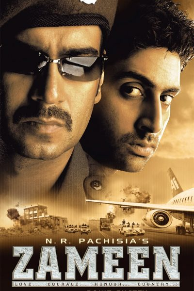 "Poster for the movie ""Zameen"""