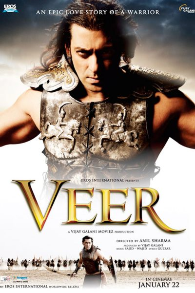 "Poster for the movie ""Veer"""