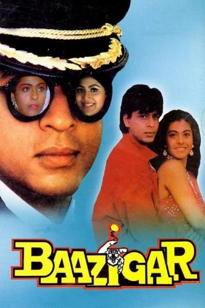 "Poster for the movie ""Baazigar"""