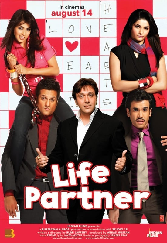 "Poster for the movie ""Life Partner"""