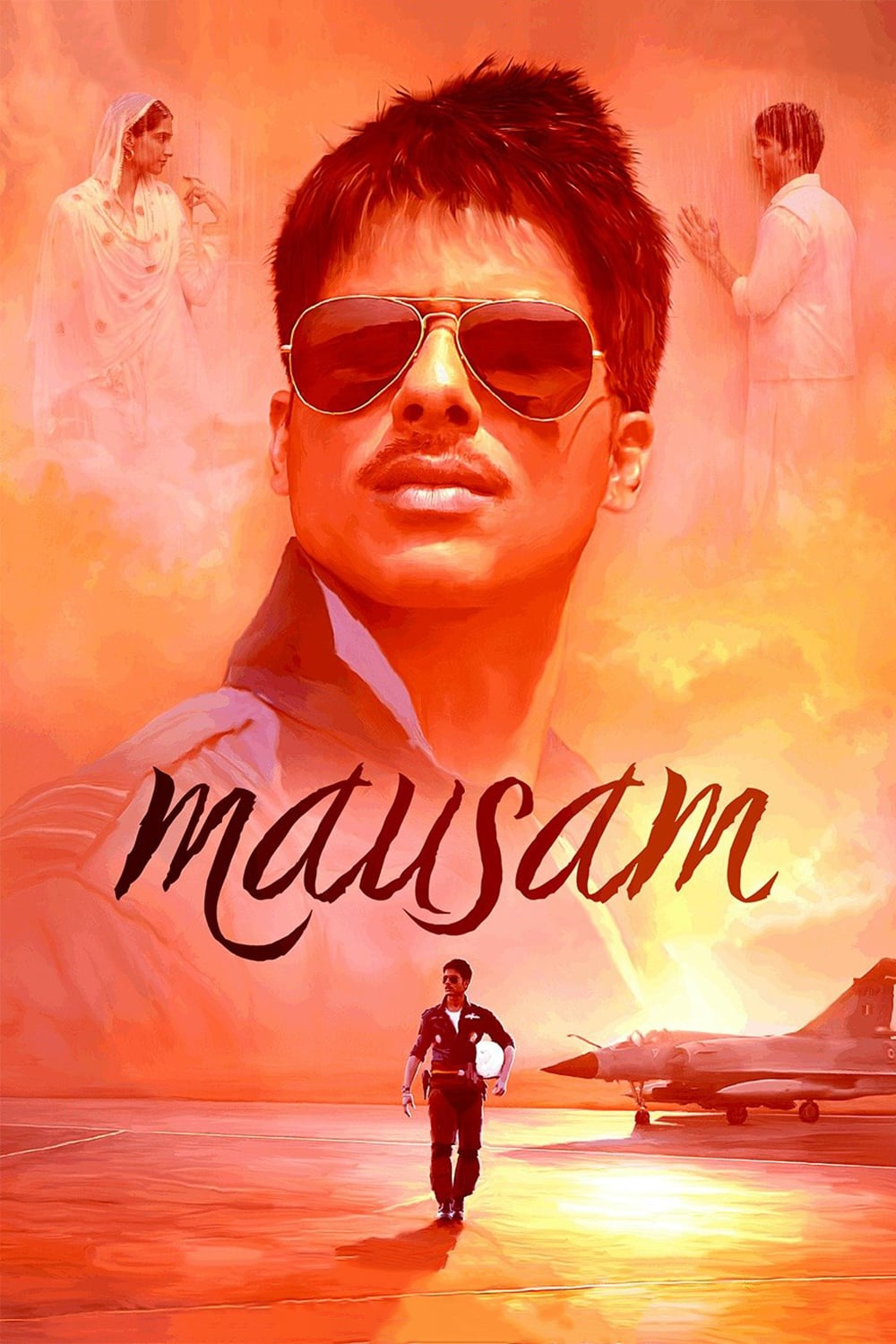 """Poster for the movie """"Mausam"""""""