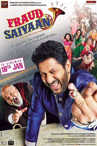 "Poster for the movie ""Fraud Saiyyan"""