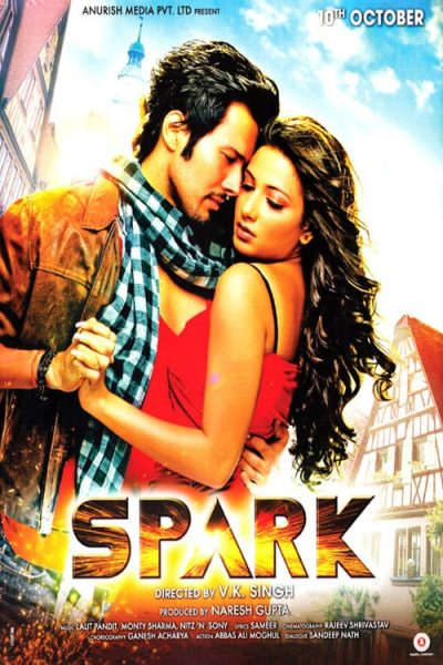 "Poster for the movie ""Spark"""