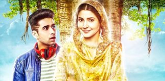 """Poster for the movie """"Phillauri Afsomali"""""""