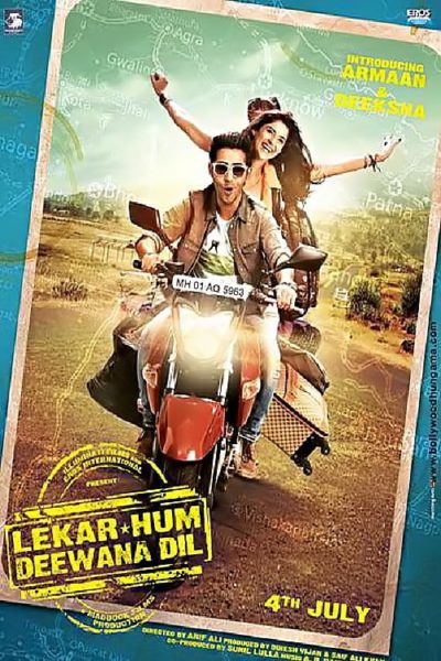 "Poster for the movie ""Lekar Hum Deewana Dil"""